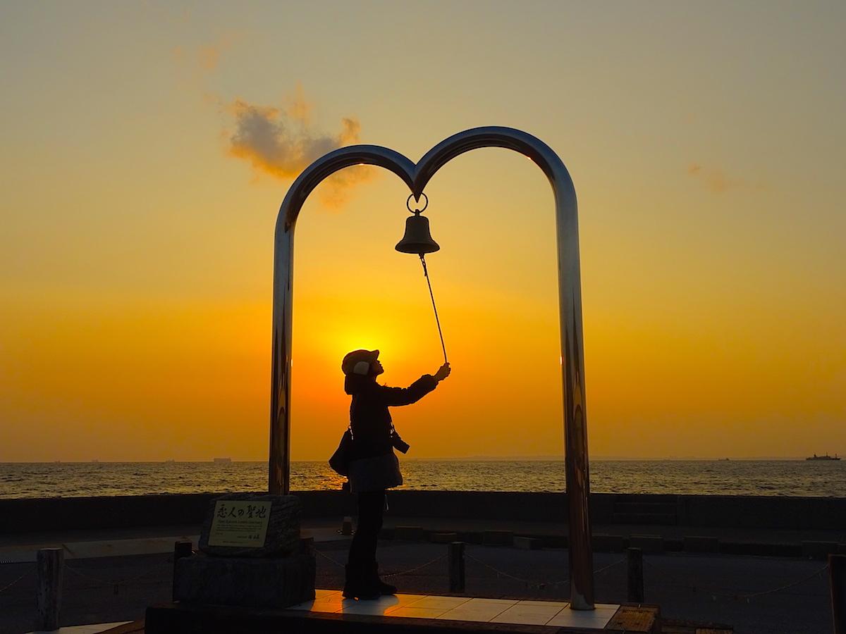 金谷港・幸せの鐘