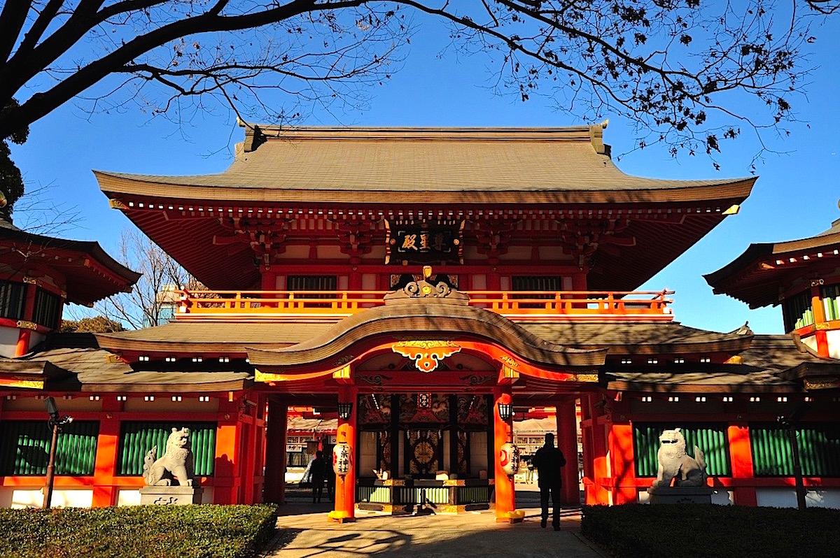 妙見信仰の中心、千葉神社