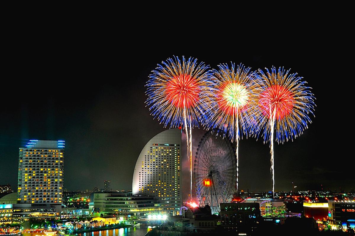 横浜・花火