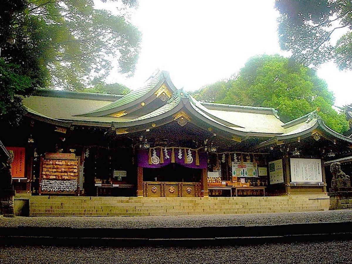 検見川神社の本殿