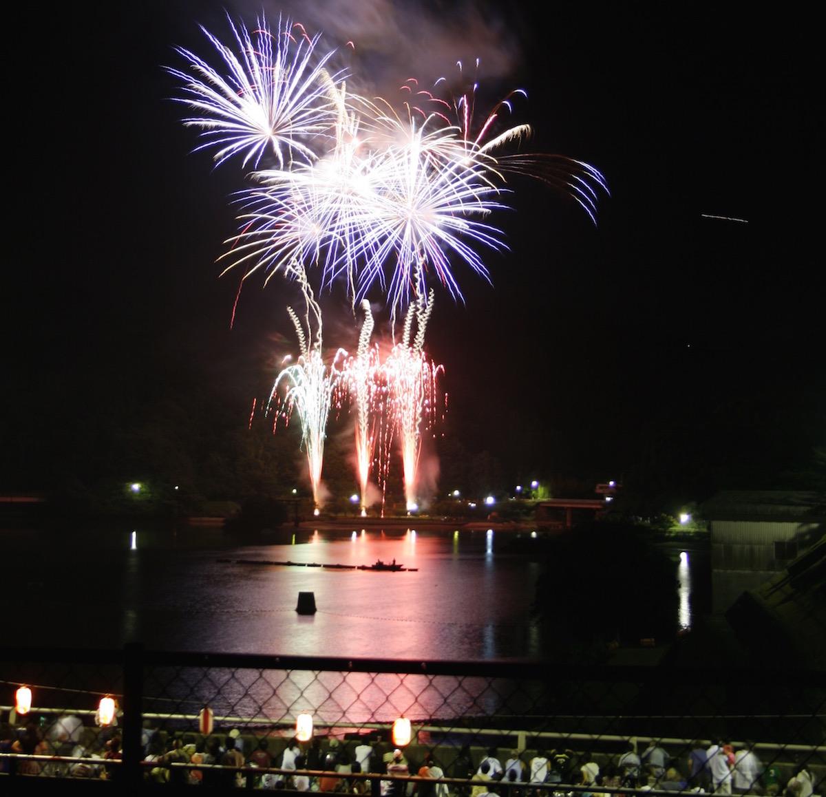 君津市民ふれあい祭りの君津市民花火大会