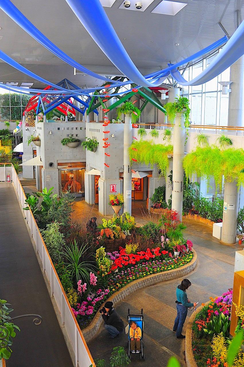 千葉市花の美術館(三陽メディアフラワーミュージアム)