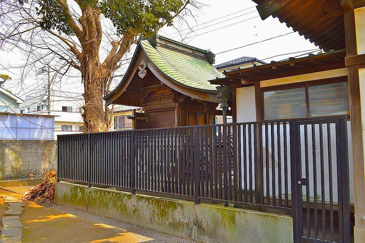 下総国総社、六所神社の本殿