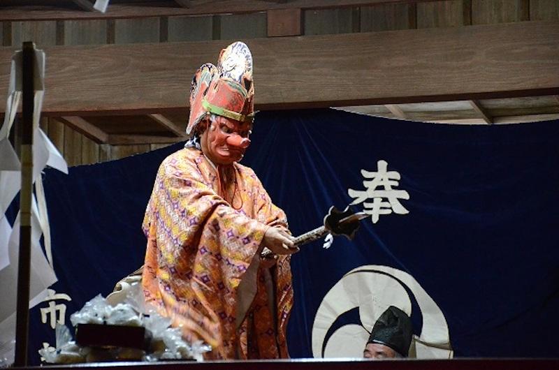 飯山満町大宮神社の神楽(船橋市)