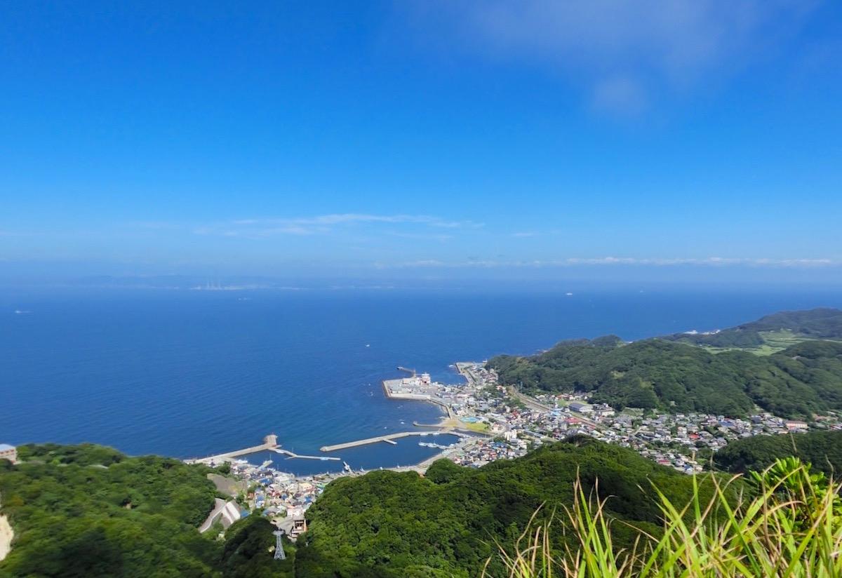 富津・東京湾側の眺め