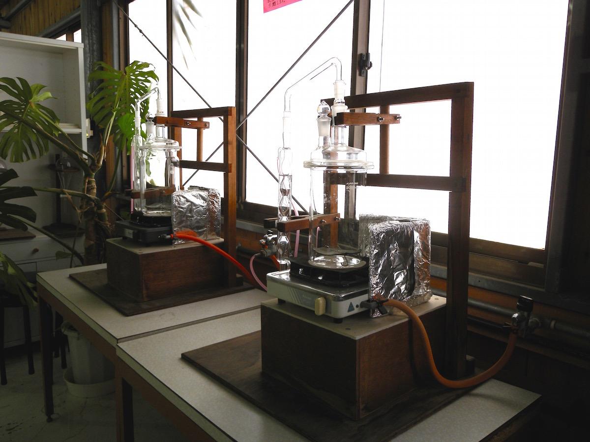 エッセンシャルオイル蒸留器具