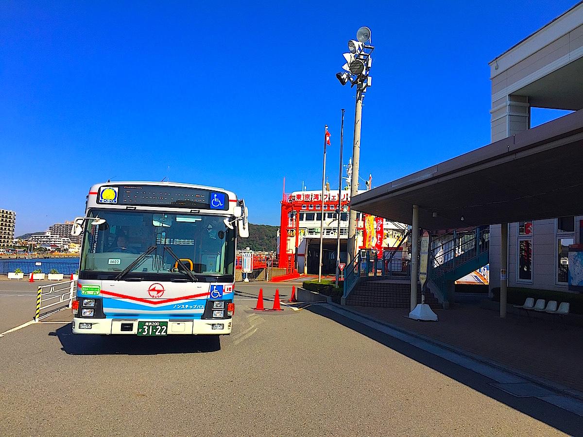 JR久里浜駅・京急久里浜駅から京急バスが利用可能