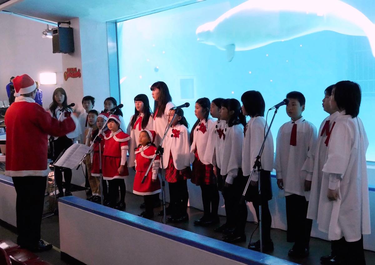 鴨川少年少女合唱団のクリスマスコンサート