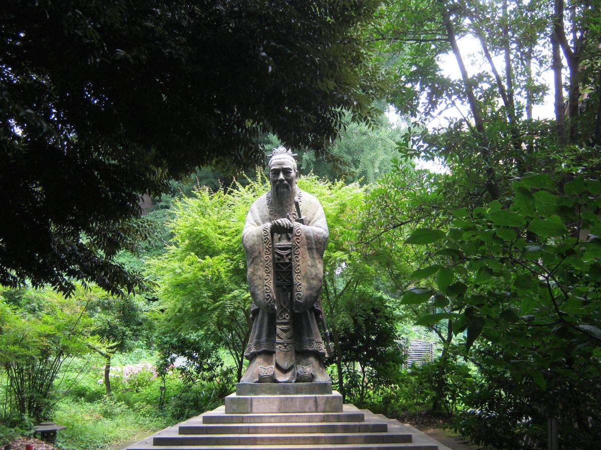 中華民国台北市 ライオンズ・クラブから寄贈の孔子像