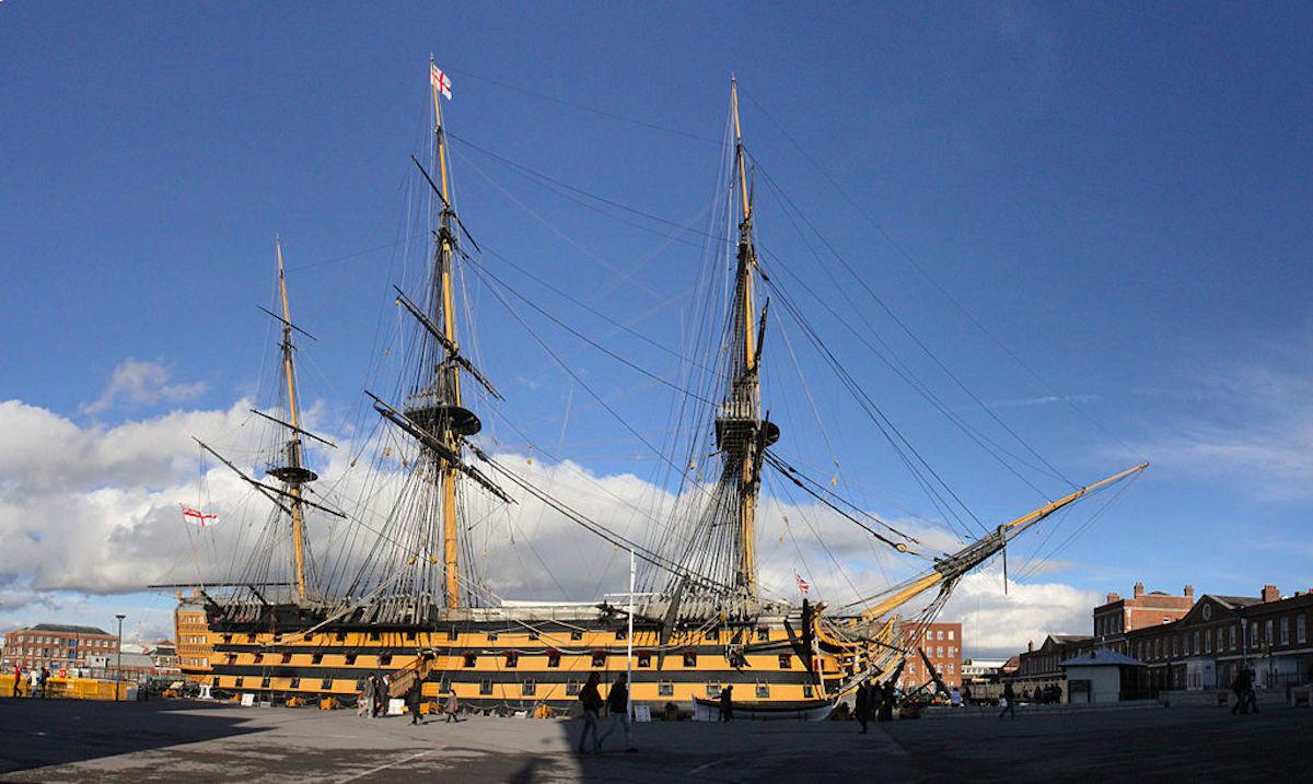 「ビクトリー」(HMS VICTORY)(HMS VICTORY)