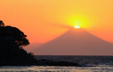 ダイヤモンド富士・沖ノ島