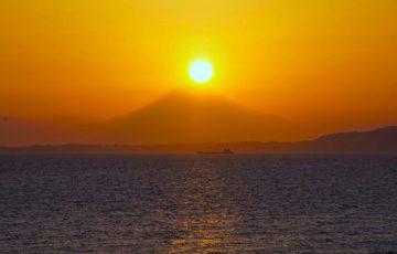 東京湾フェリー・ダイヤモンド富士