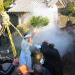 厳島神社『湯立神事』