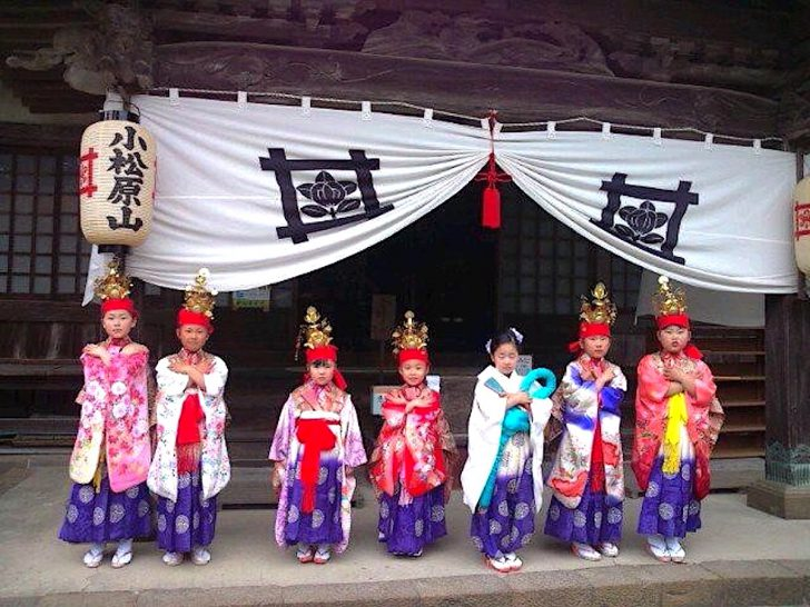 鏡忍寺『開山式』(春のおえしき)
