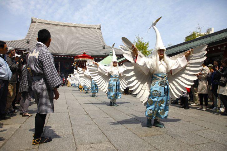 浅草寺『白鷺の舞』