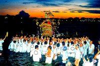 寒川神社『例大祭・御浜下り(海上渡御)』(千葉市)