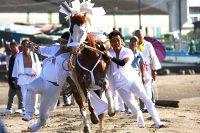 吾妻神社『馬だし祭り』(富津市)