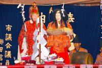 飯山満町大宮神社で神楽奉納|船橋市
