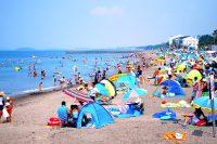 【海水浴】波左間海水浴場(館山市)